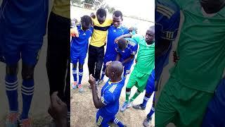 Laikipia County and Nakuru County deaf team praying