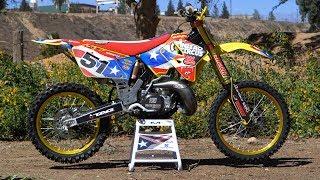 Motocross Action tests Travis Pastrana's Suzuki RM250 MXDN 2 Stroke