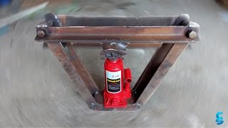 Гидравлический трубогиб своими руками ┃DIY hydraulic pipe bender(, 2016-06-26T11:40:33.000Z)