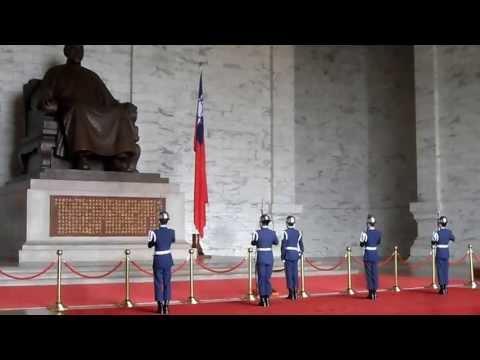 Changing of the Guards at Chiang Kai Shek Memorial