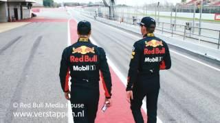 Max Verstappen and Daniel Ricciardo - Goodies ahead of the 2017 season, 23/03/2017