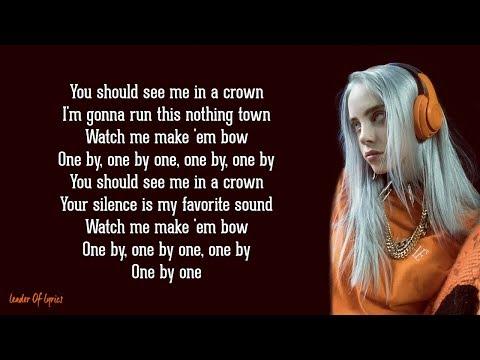 Billie Eilish - you should see me in a crown (Lyrics)