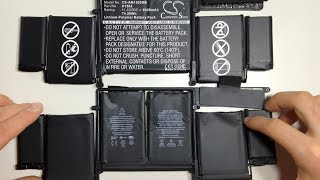 How to replace battery in MacBook Pro 13 inch 2015 after water damage