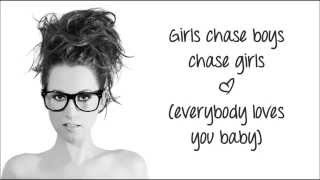 "Ingrid Michaelson - ""Girls Chase Boys"" (Lyric Video)"