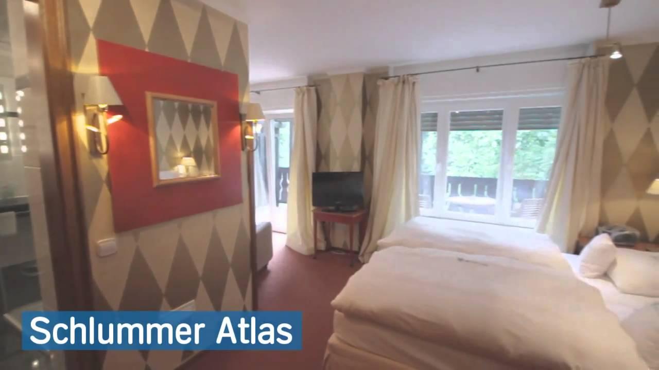 romantik hotel hof zur linde in m nster youtube. Black Bedroom Furniture Sets. Home Design Ideas