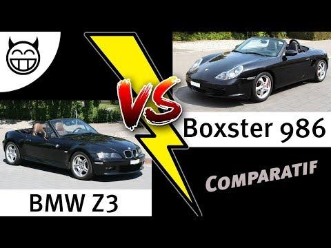 Comparaison entre BMW Z3 et Boxster 986 - Laquelle choisir ?