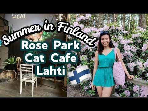 Messy summer days in Helsinki - Gardening, Cafe, Roses and Forest| June Vlog|