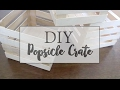 DIY POPSICLE CRATE DECOR