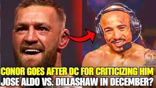 Conor McGregor GOES OFF on Daniel Cormier for publicly criticizing him! Jose Aldo post UFC 265 win