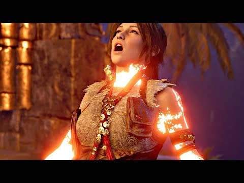 Shadow of The Tomb Raider - Final Boss Fight (Tomb Raider 2018) PS4 Pro