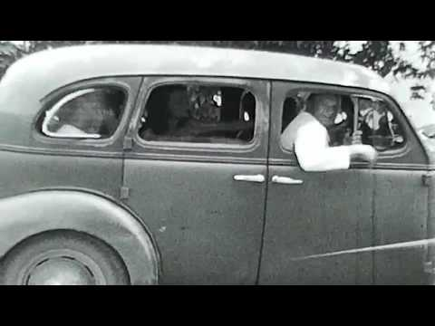 1940's Wisconsin Farm Vintage 8mm Film Family Home Movie Antique Cars Automobiles