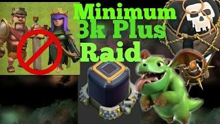 TH9 Dark Elixir farming Without Heroes - Clash of clans [Guranteed DE Raid  No Heroes  Easy DE Raid]