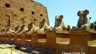 видео Карнак: достопримечательность Египта. Храм Амона Ра в Карнаке. Святилища Монту в Карнаке. Карнак сегодня