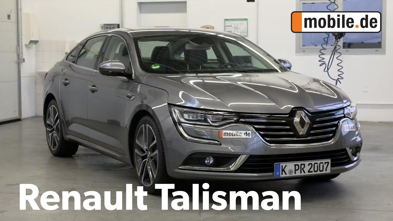 Auto Test Renault Talisman I Ab 2015 Mobilede Youtube