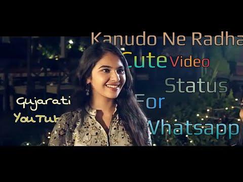 Jamuna Kathe Raas Rame Kanudo Ne Radha Cutest Garba Song Krishna And Radha VideoStatus For WhatsApp