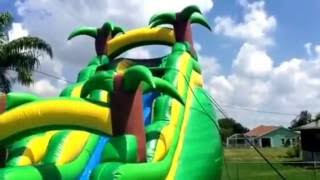 Space Walk of Cape Coral  - Tropical Rush Water Slide