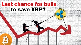 Xrp breaks the floor... now what? (can bulls save xrp?). drops and makes fresh lows after recent bounce. it has broken closed below its risi...
