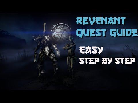 How To Get REVENANT Warframe | Revenant Quest Guide Easy Steps