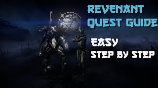 How To Get REVENANT Warframe | Revenant Quest Guide Easy Steps