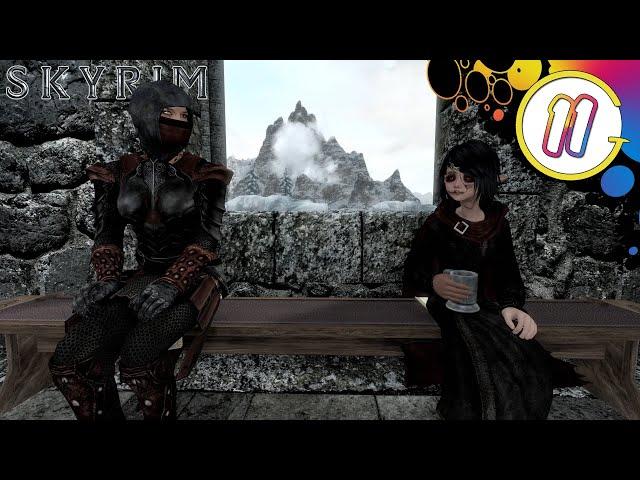 Assassins and Zombie Girls | Skyrim SE Livestream
