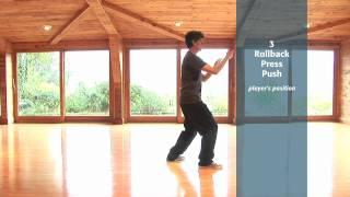 Tai Chi Form: 3 - Rollback Press Push