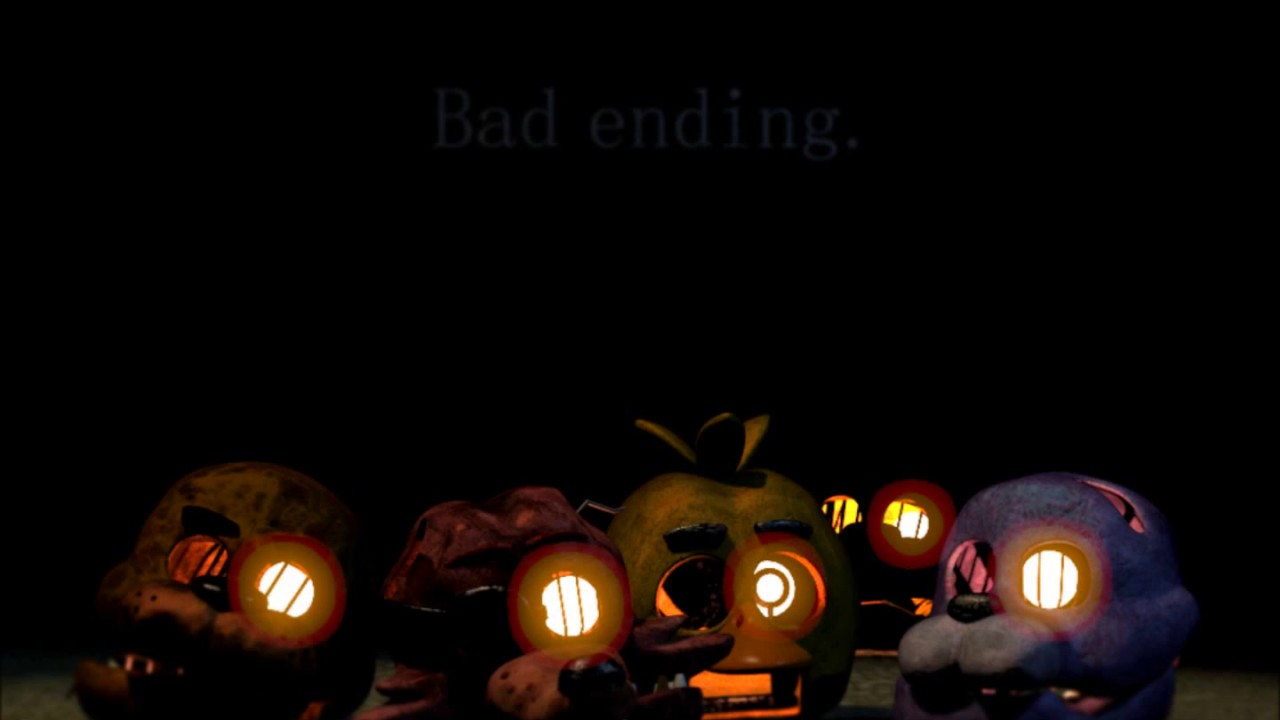 Five Nights At Freddy S 3 Music Extended Bad Ending Happiest Day