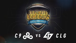 C9 vs. CLG | Regional Qualifier Day 3 | NA LCS Summer Split Game 1 | C9 vs. CLG (2017)