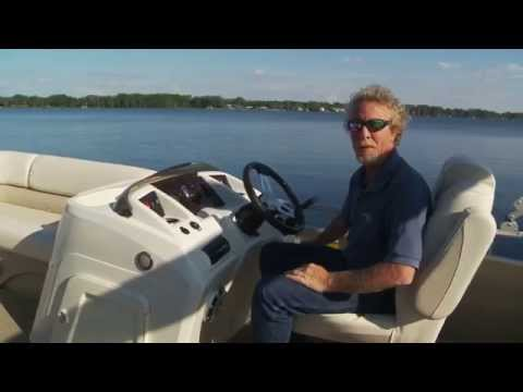 Bennington 24 SSRX Pontoon Boat Test