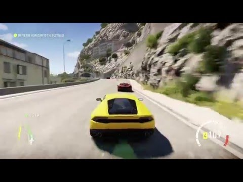 Forza Horizon 2 Intro
