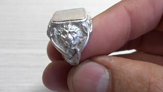 видео Кольца серебряные