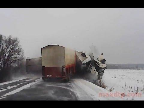 Видео аварий грузовиков с видеорегистраторов авторегистратор парксити hd dvr 500 купить в москве