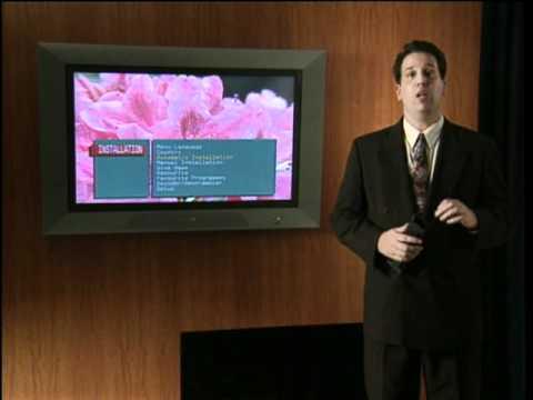 Segment from 1998 Philips 'Flat TV' demo DVD
