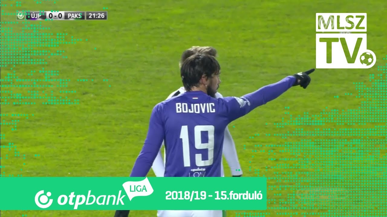 Újpest FC - Paksi FC | 1-1 (0-0) | OTP Bank Liga | 15. forduló | 2018/2019