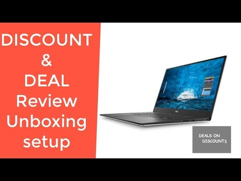 "Dell XPS 15 9570 15.6"" 4K UHD TouchScreen Laptop REVIEW DEAL DISCOUNT UNBOXING SETUP BBY-W24T5FX"