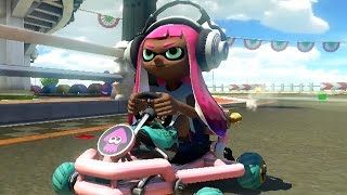 Mario Kart 8 Deluxe - 200cc Egg Cup Grand Prix (Inkling Girl Gameplay)