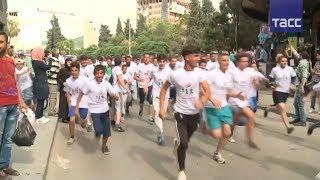 В Хомсе провели марафон в честь возвращения города под контроль правительственных войск