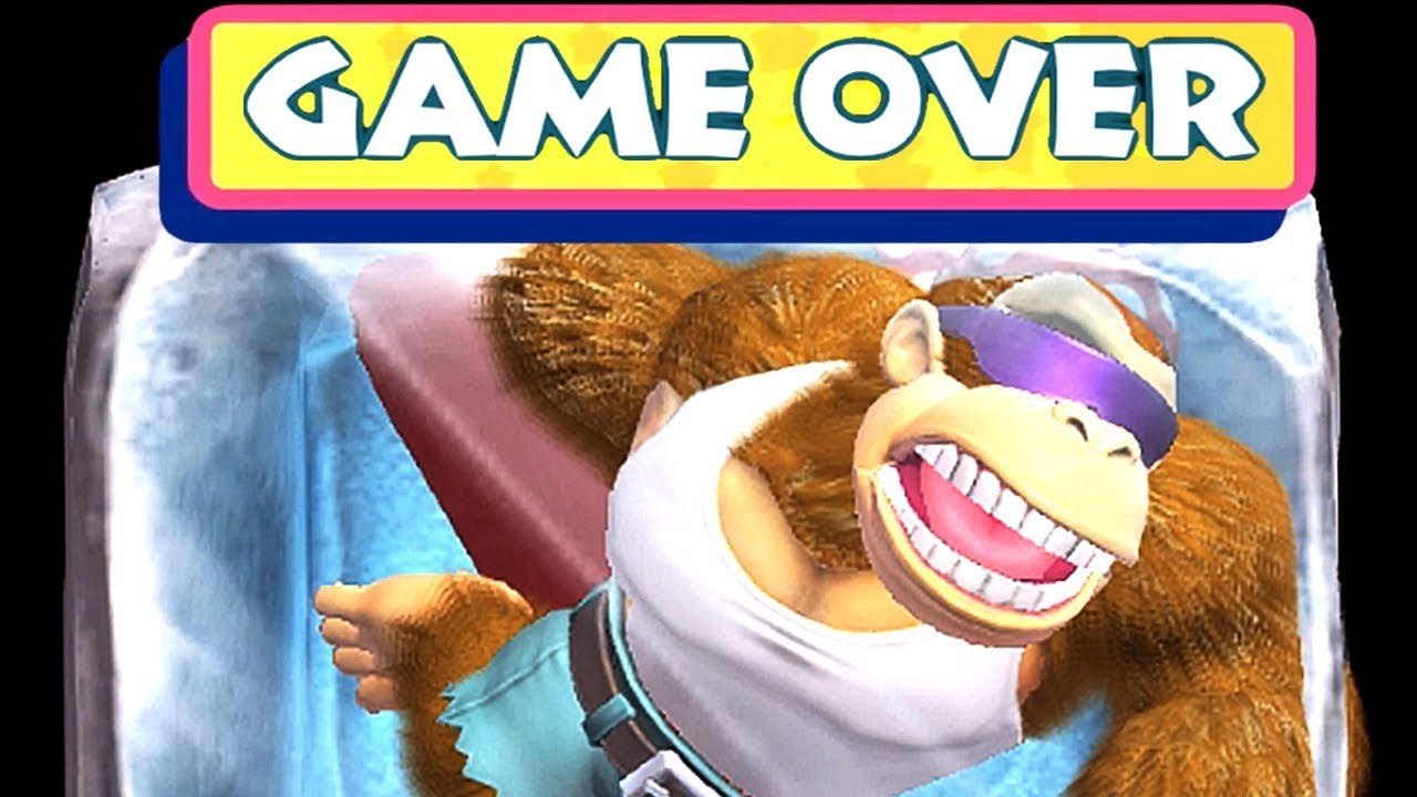 All Game Over Screens & Deaths in Donkey Kong Country: Tropical Freeze Switch (All Characters)