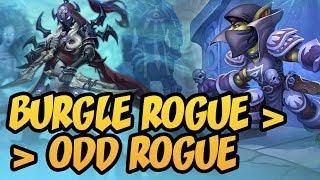 Burgle Rogue ▶︎ Odd Rogue | Rise of Shadows | Hearthstone