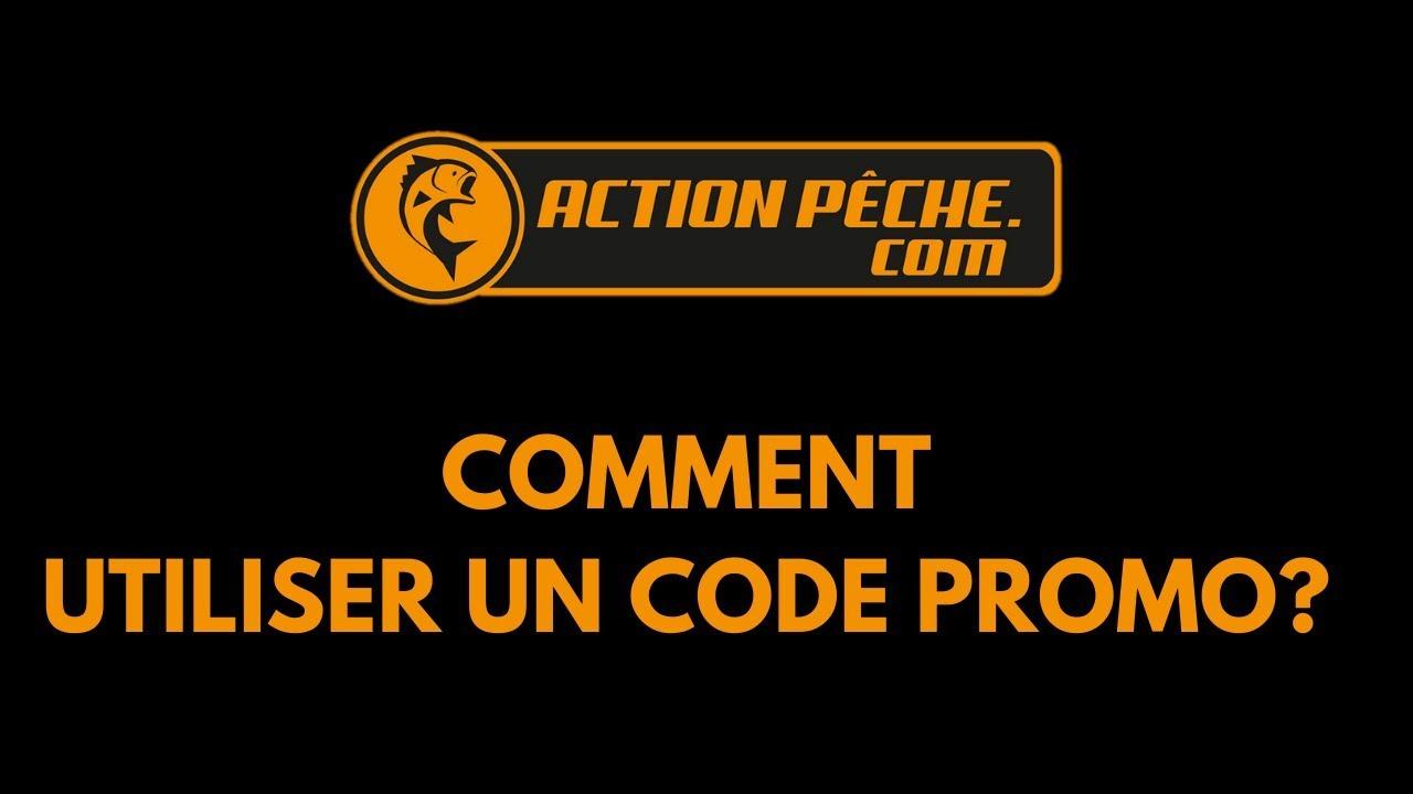 Comment mettre un code promo ACTION PECHE - YouTube