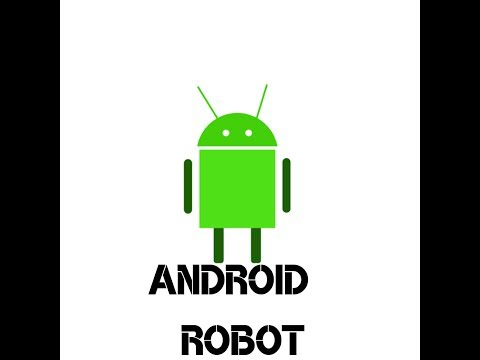 Draw android robot using free Vector graphics software ...  Draw android ro...