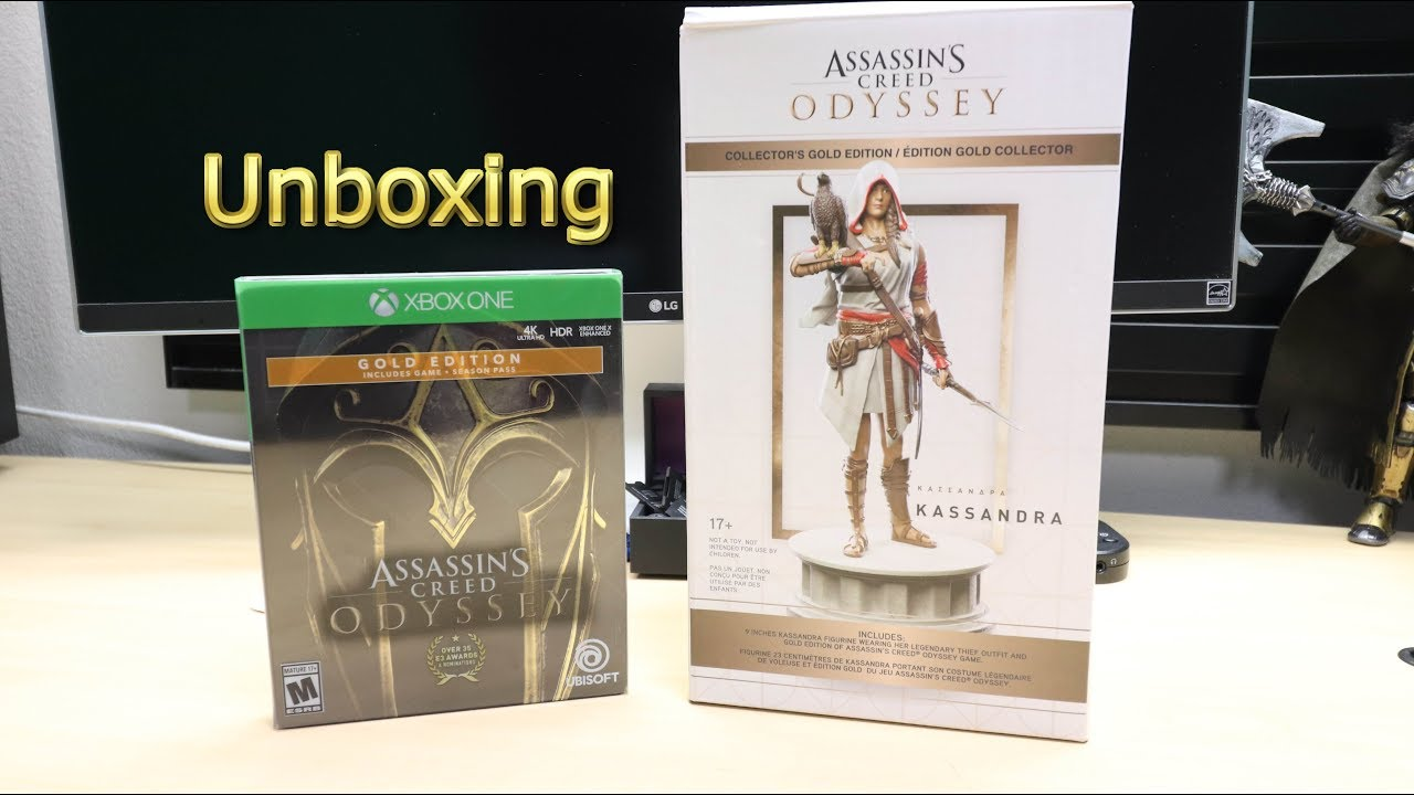 assassins creed odyssey kassandra statue gamestop