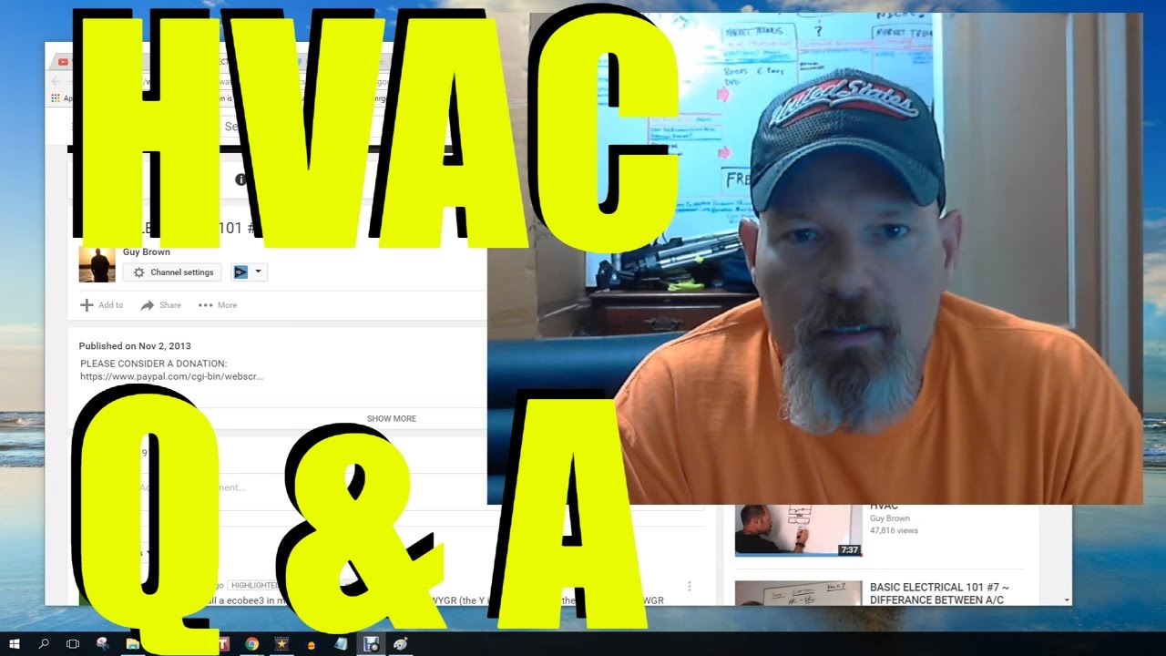 Hvac Q U0026a Thermostat Wiring