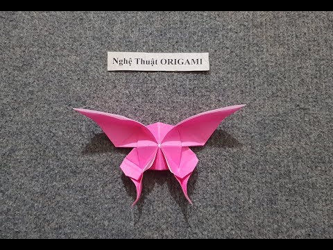 ORIGAMI - Gấp Con Bướm || How to Make Beautiful Butterfly