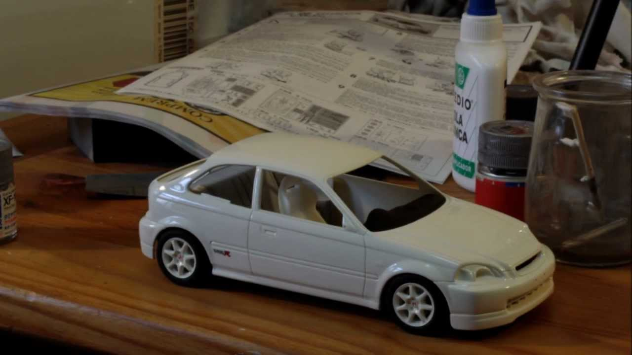 Hd 1 24 Fujimi S Honda Civic Ek9 Type R By