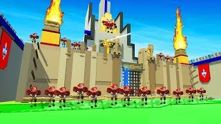CASTLE CHALLENGE IN CLONE DRONE IN THE DANGER ZONE Clone Drone in the Danger Zone Gameplay