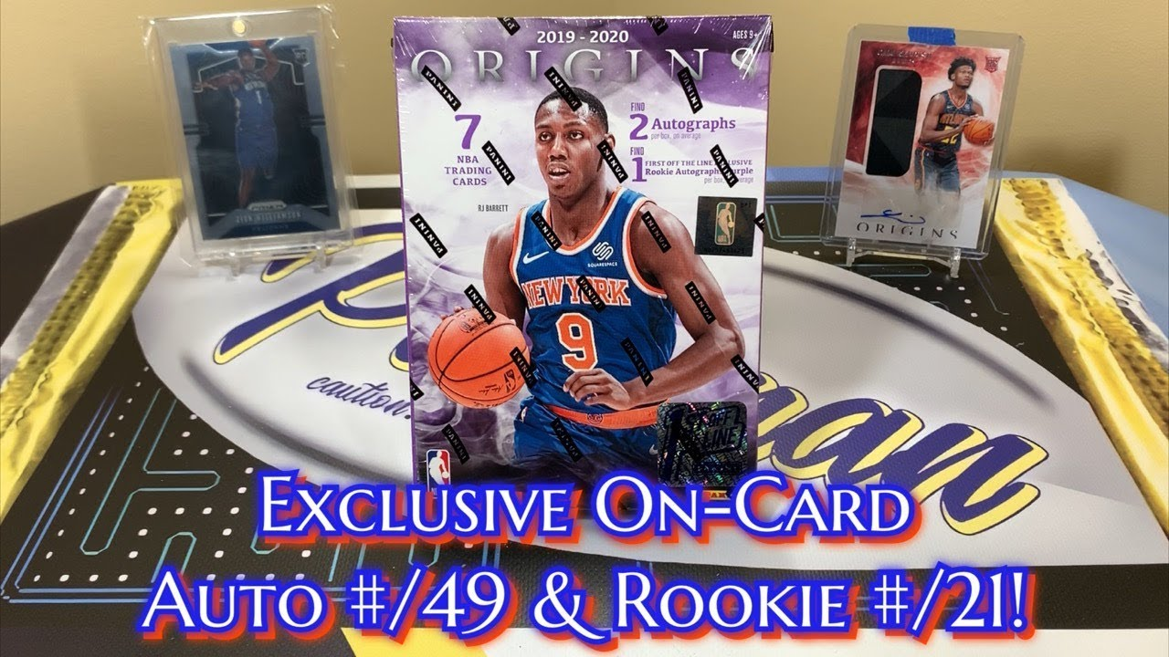 2019 20 Panini Origins Basketball Fotl Hobby Box Break 2 Nice On Card Rookie Auto Rookie 21
