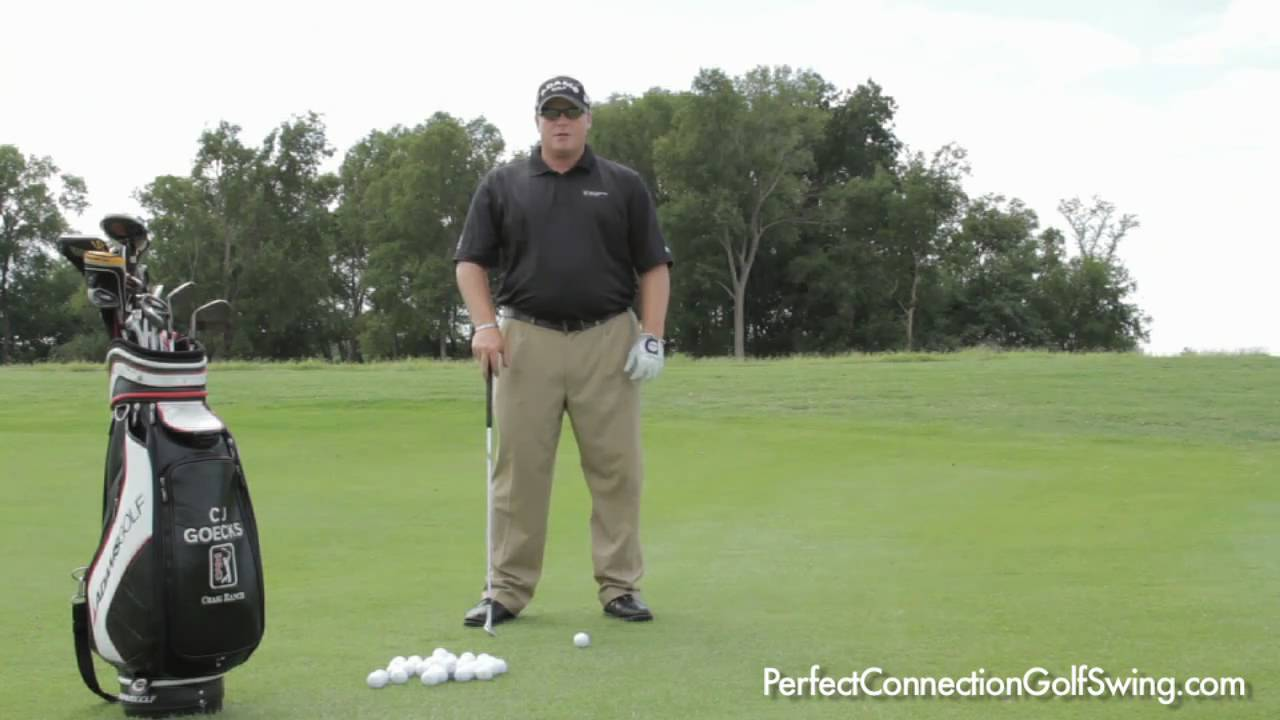 Golf Short Game Tips: How to Set Up for a Chip Shot - YouTube