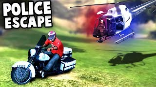 ESCAPING From The POLICE HELICOPTER and STEALING MONEY! (GTA V SWAT Mod Gameplay)