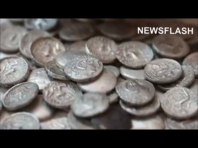 500 Silver Coins From 3 BC Found In UAE