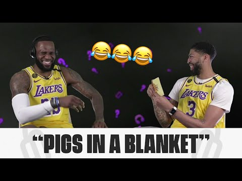 LeBron James Couldn't Understand A Word Anthony Davis Was Saying